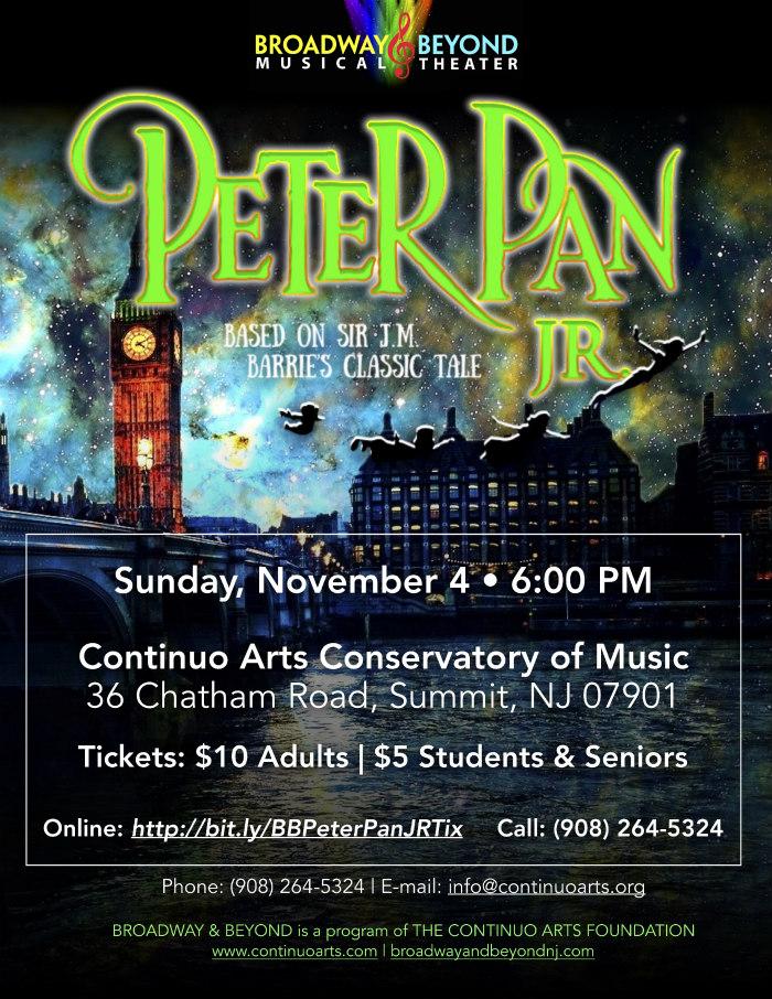 Peter Pan Show Poster