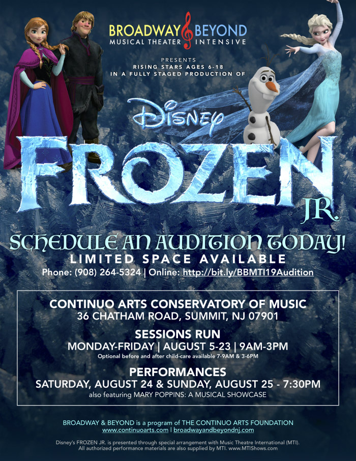 Frozen Jr. poster (lg)